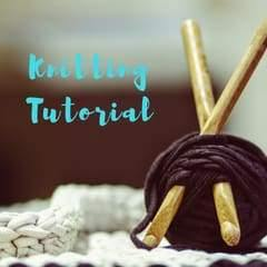 HOW TO KNIT ON THE BIAS