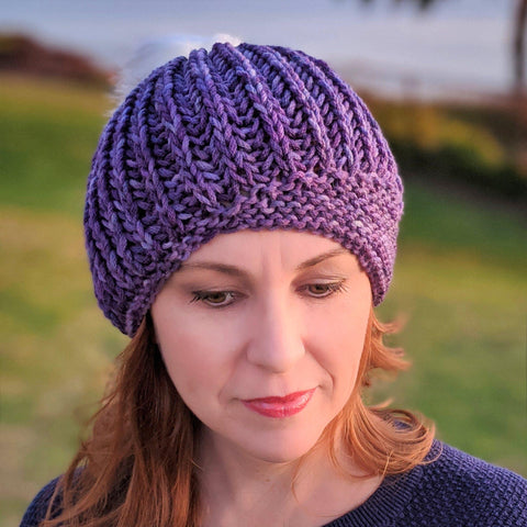 Brioche Stitch - Single Color in the Round