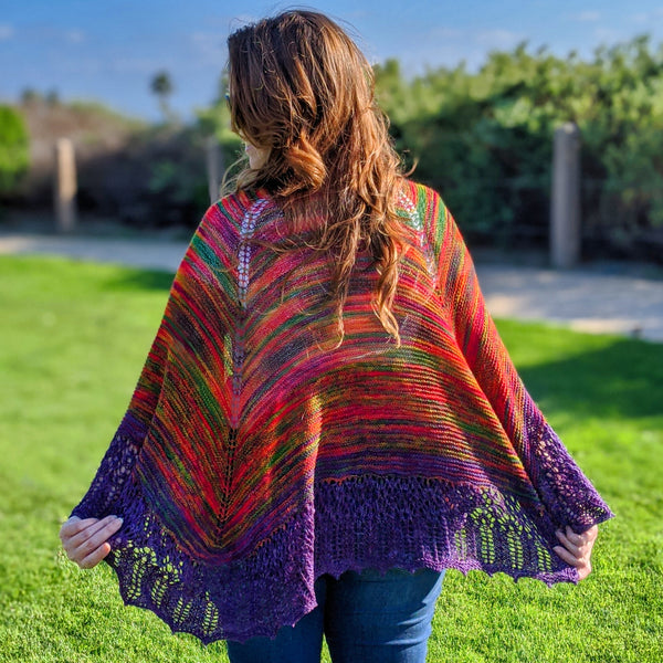 Lost Winds Shawl