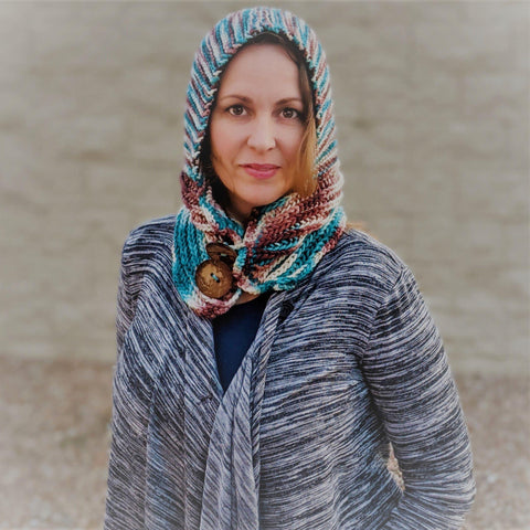 Evergreen Hooded Cowl