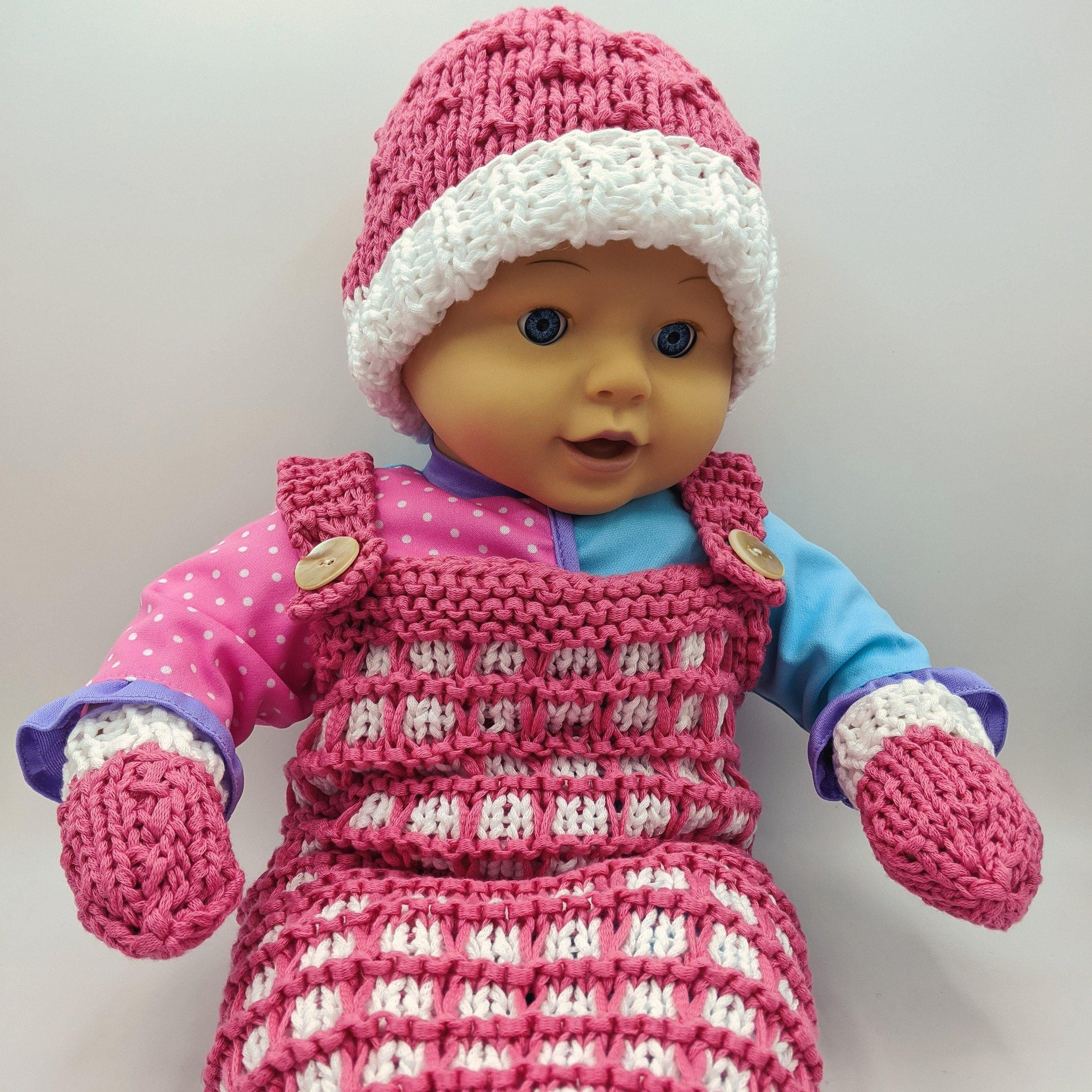 Baby Knit Set Sample - Skeino Yarn