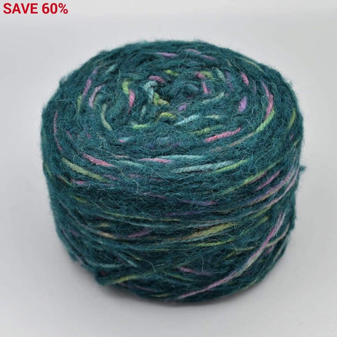 2-Strand Yarn Cakes - 4.0oz Dark Green - YARN