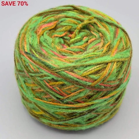 2-Strand Yarn Cakes Large - 6.1 oz Greens - YARN