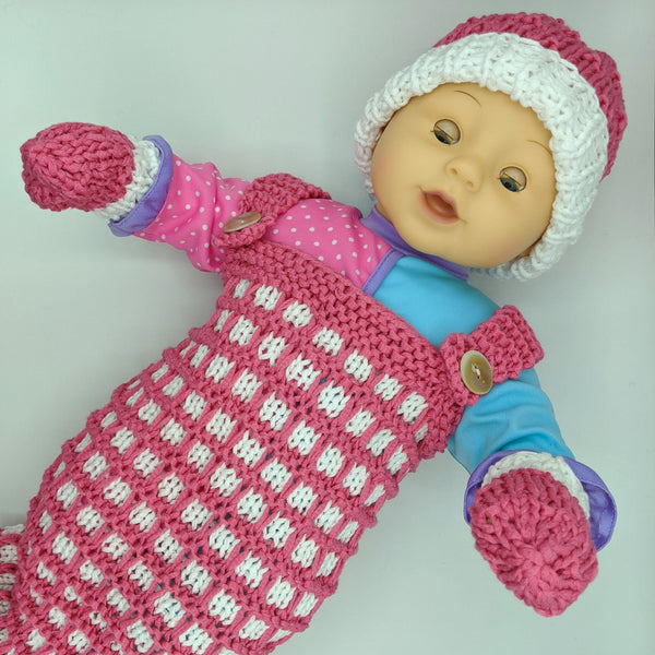 Baby Knit Set - Skeino Yarn