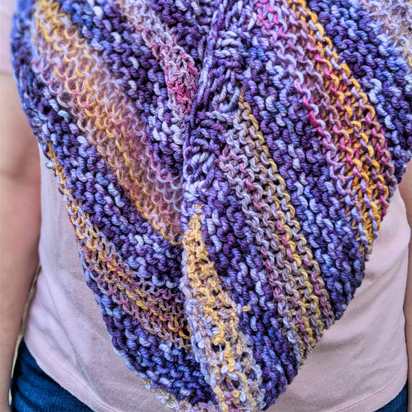 Through the Gloaming Cowl - Skeino Yarn