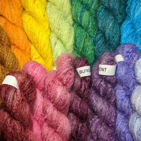 Mini Skeins - 12-Yarn Solid Colors