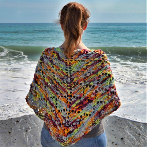 Diamond Flame Shawl