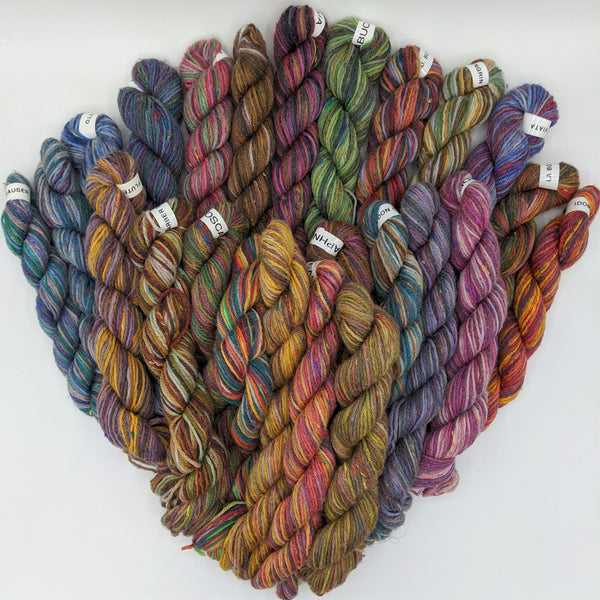 Mini Skeins - Donnegal Tweed Sock Pastel Colors