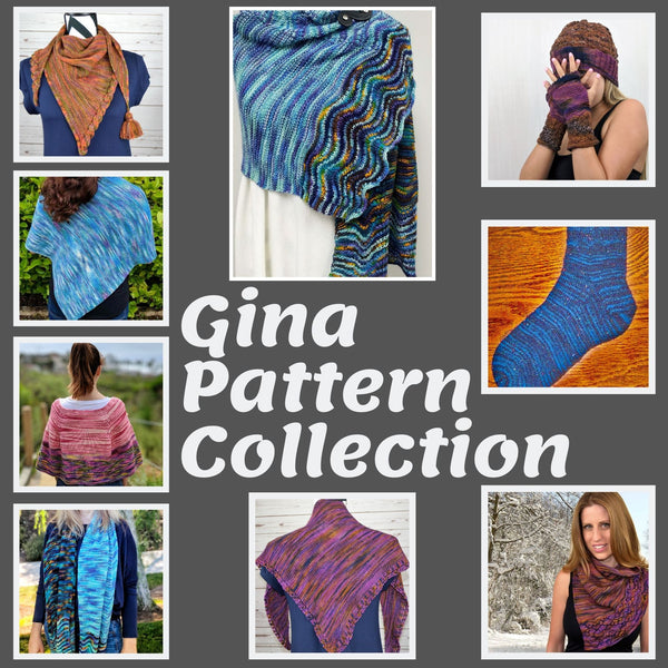 Gina Yarn Collection Pattern Book