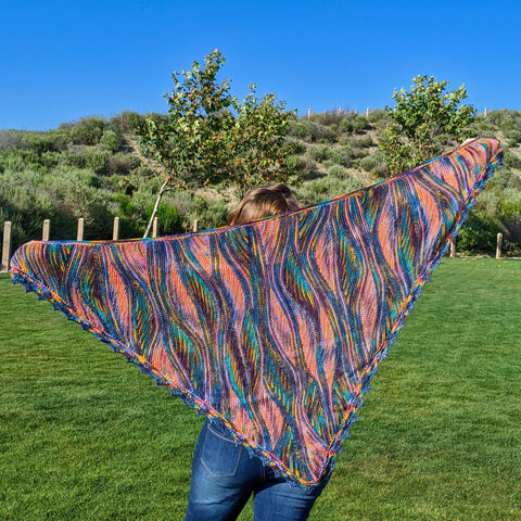 Miss Grace 3-Skein Tencel Shawl