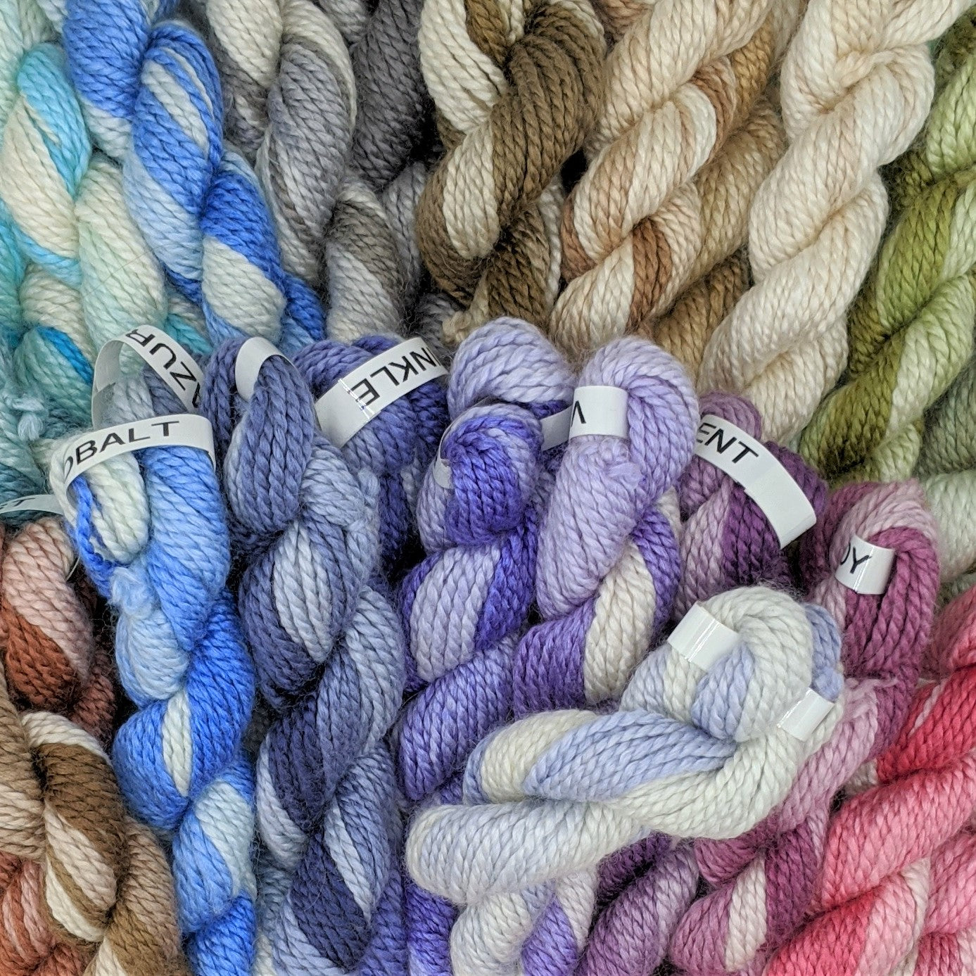 Mini Skeins - Tonal Colors