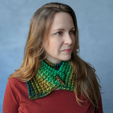 Twice as Nice Cowl - Skeino Yarn