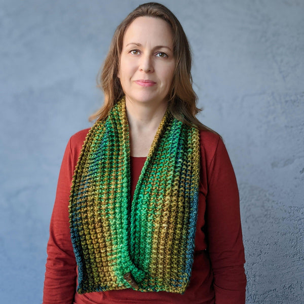 Twice as Nice Cowl Pattern - Skeino Yarn