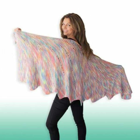 Arabella Bamboo Shawl - Knitting Kit