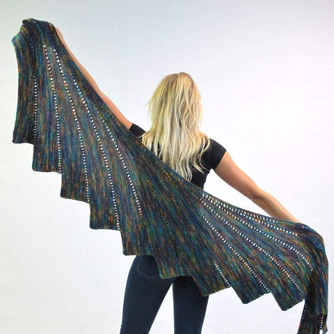 Arabella Royal Shawl - Knitting Kit