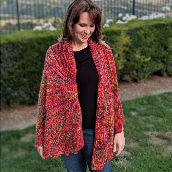 Arabella Stunning Shawl - Knitting Kit