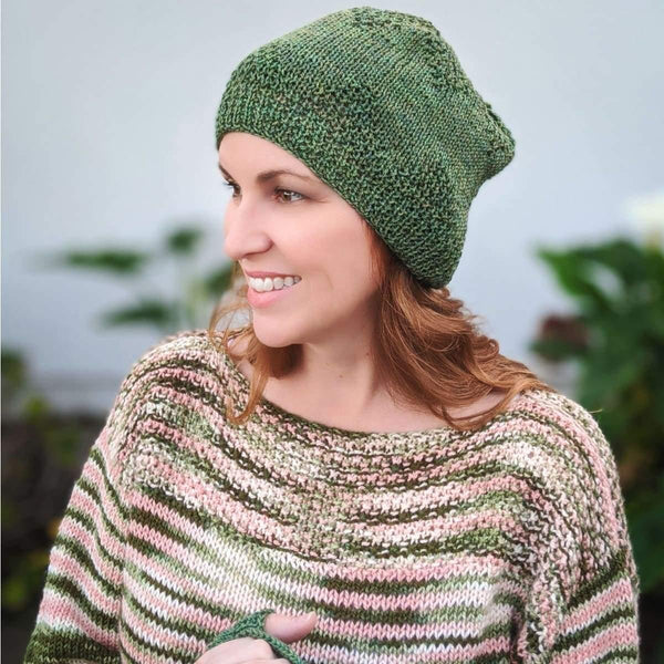 Boatneck Sweater - Knitting Kit