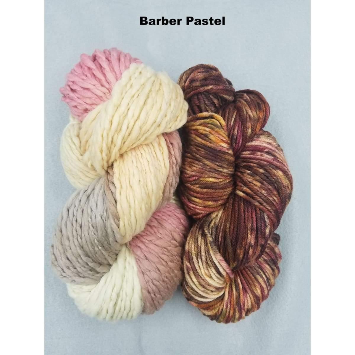 BoHo Shawl - Barber Pastel - Knitting Kit