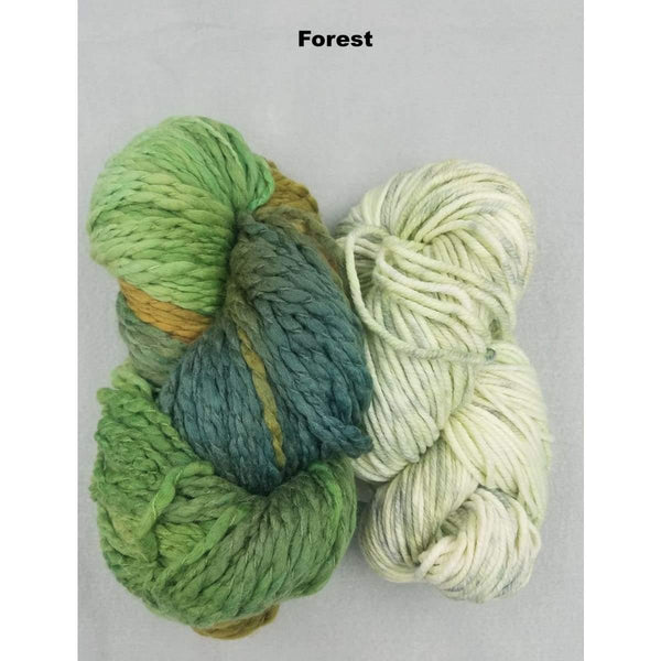 BoHo Shawl - Forest - Knitting Kit