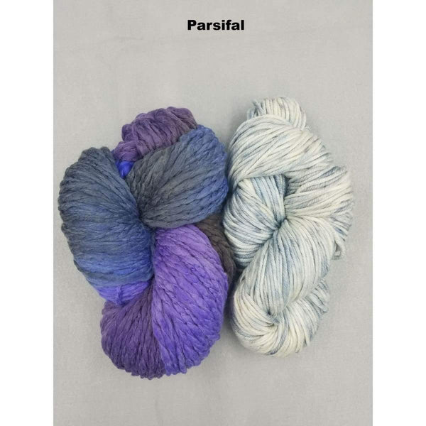 BoHo Shawl - Parsifal - Knitting Kit