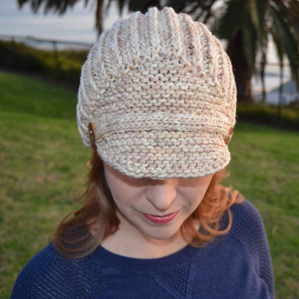 Brioche Hat - Two Ways - Knitting Kit