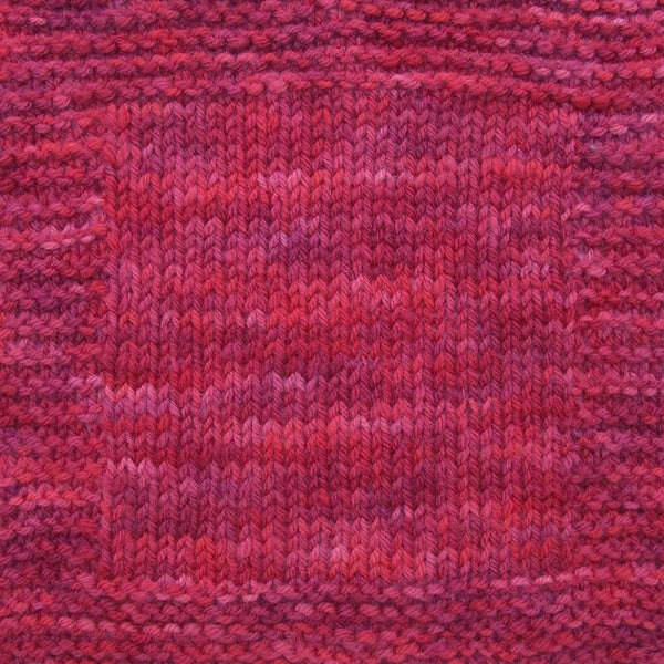 Brioche Hat - Two Ways - Cranberry - Knitting Kit
