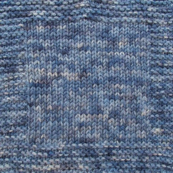 Brioche Hat - Two Ways - Denim - Knitting Kit