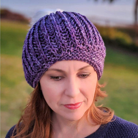 Brioche Hat - Two Ways Pattern - Pattern