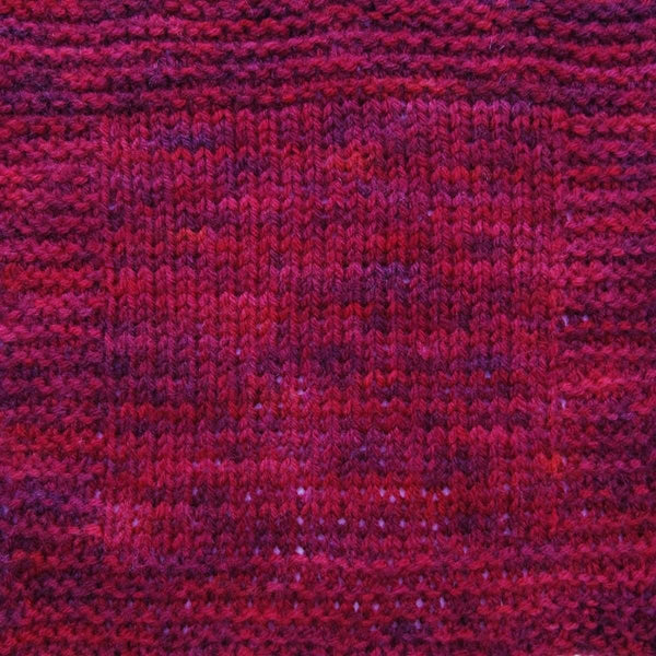 Brioche Hat - Two Ways - Ruby Red - Knitting Kit