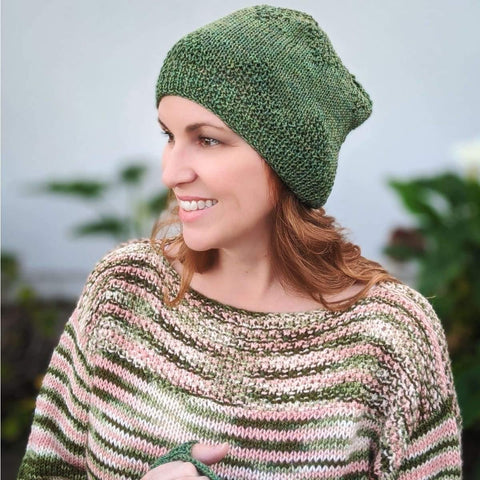 Cianna Hat & Mitts - Knitting Kit
