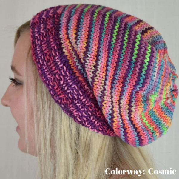 Cosmic Cowl & Hat - Knitting Kit