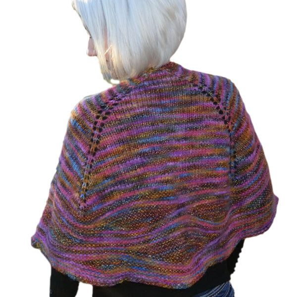 Cosmic Shawl - Knitting Kit