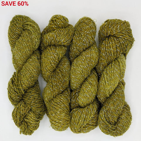 DK Weight - Merino Glitter Mini Skeins - #1 Olive 4 Pack - YARN