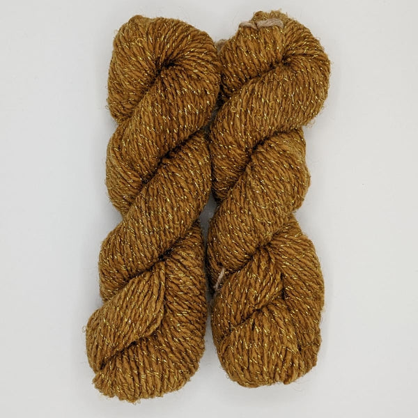 DK Weight - Merino Glitter Mini Skeins - #12 Light Brown 2 Pack - YARN