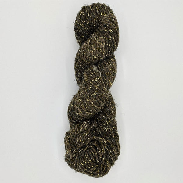 DK Weight - Merino Glitter Mini Skeins - #18 Dark Single Skein - YARN