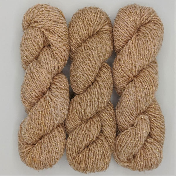 DK Weight - Merino Glitter Mini Skeins - #4 Pale 3 Pack - YARN