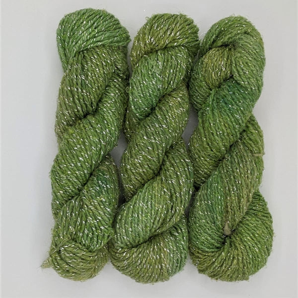 DK Weight - Merino Glitter Mini Skeins - #5 Green 3 Pack - YARN