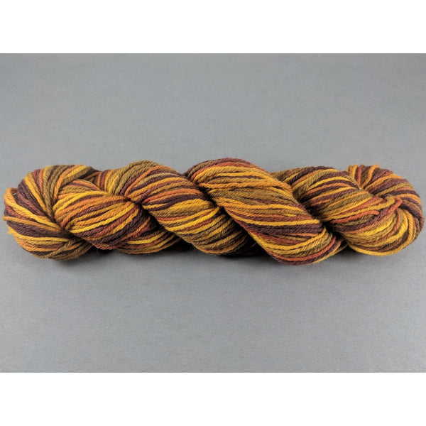 DK Weight - Merino Mini Skeins - Yellow/Brown/Green - 120 yards - YARN