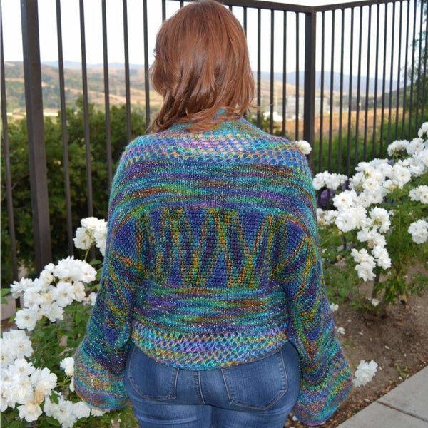 Dreamcatcher Shrug - Knitting Kit
