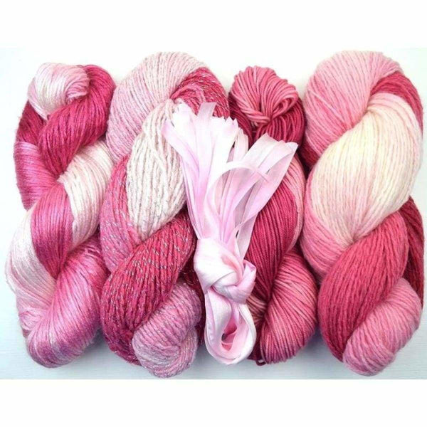 Dreamcatcher Shrug - Pink Dream - Knitting Kit