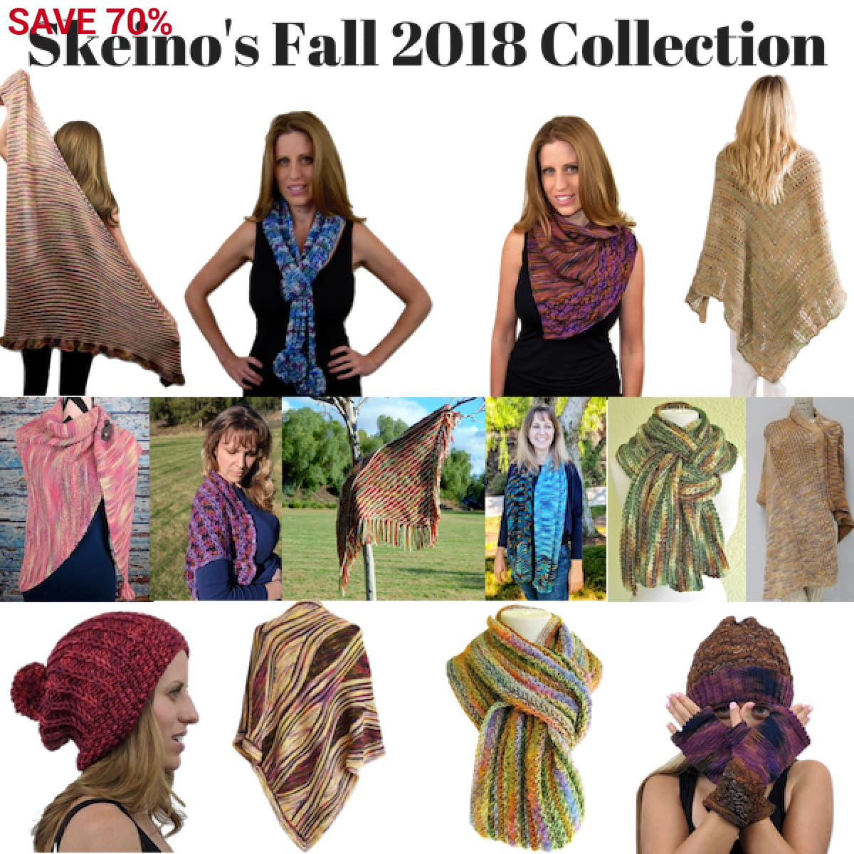 Fall Collection 2018 Pattern eBook - Pattern