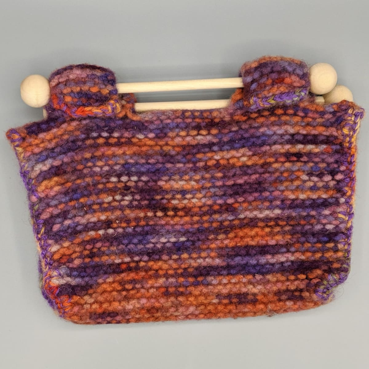 Felted Purse - Knitted Sample - 1 - Handmade