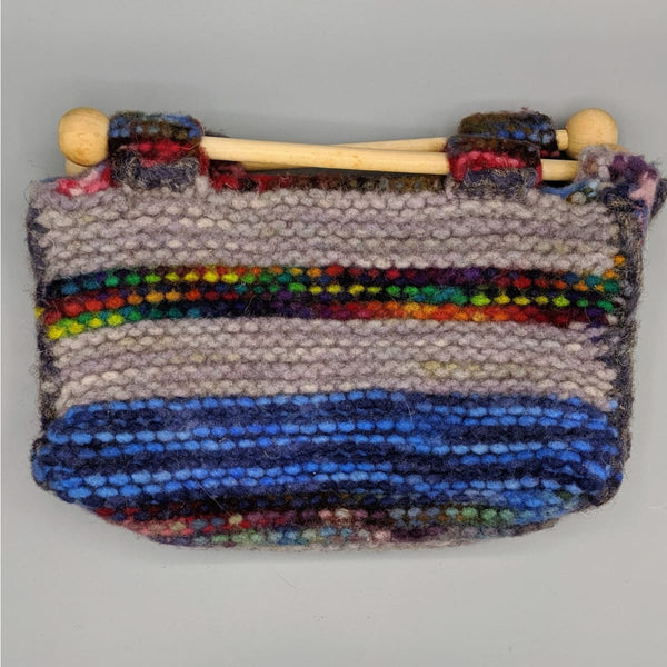 Felted Purse - Knitted Sample - 10 - Handmade