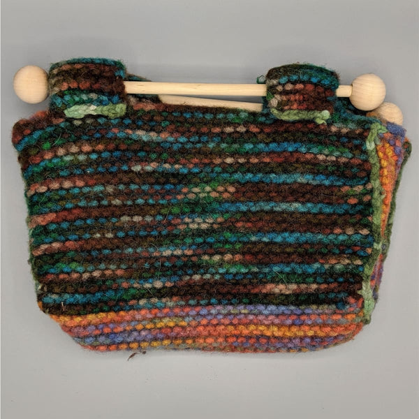 Felted Purse - Knitted Sample - 11 - Handmade