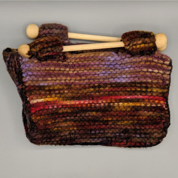 Felted Purse - Knitted Sample - 12 - Handmade