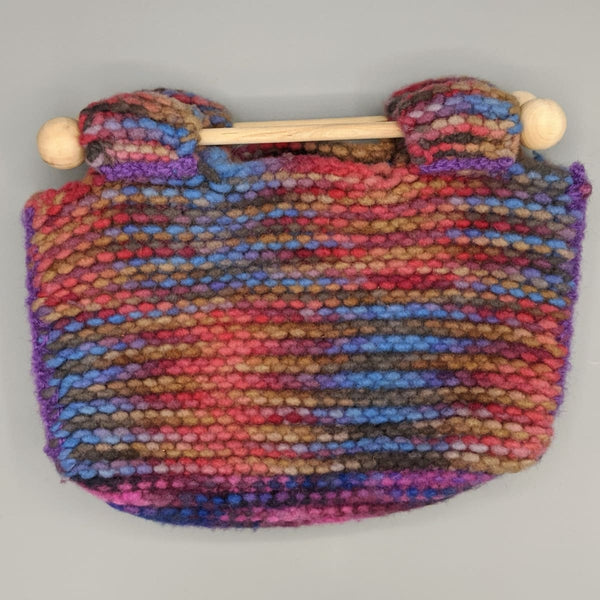 Felted Purse - Knitted Sample - 2 - Handmade