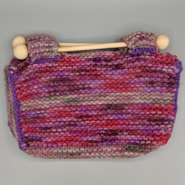 Felted Purse - Knitted Sample - 4 - Handmade