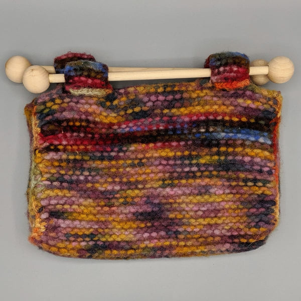 Felted Purse - Knitted Sample - 5 - Handmade