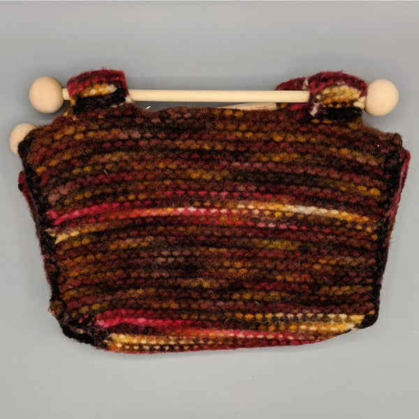 Felted Purse - Knitted Sample - 6 - Handmade