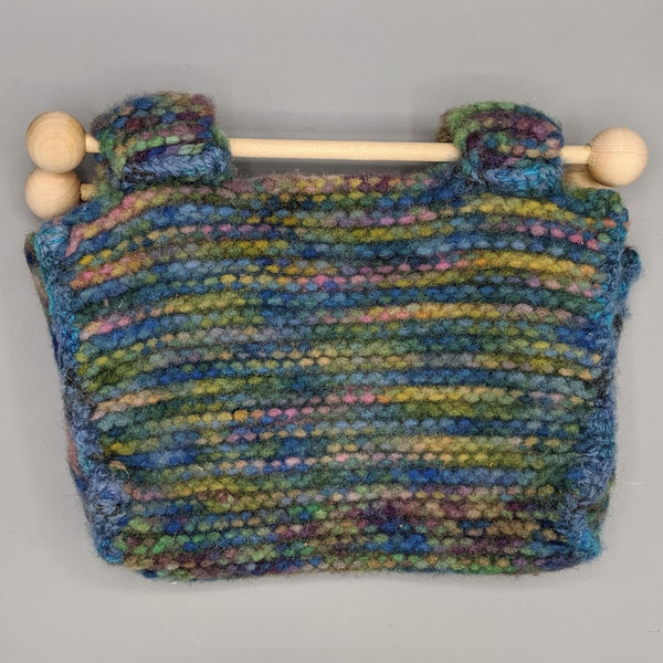 Felted Purse - Knitted Sample - 7 - Handmade
